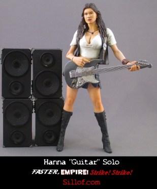 Faster Empire Strike Strike - Hanna Guitar Solo