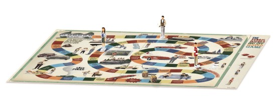 Ferris Bueller's Day Off Board Game 4
