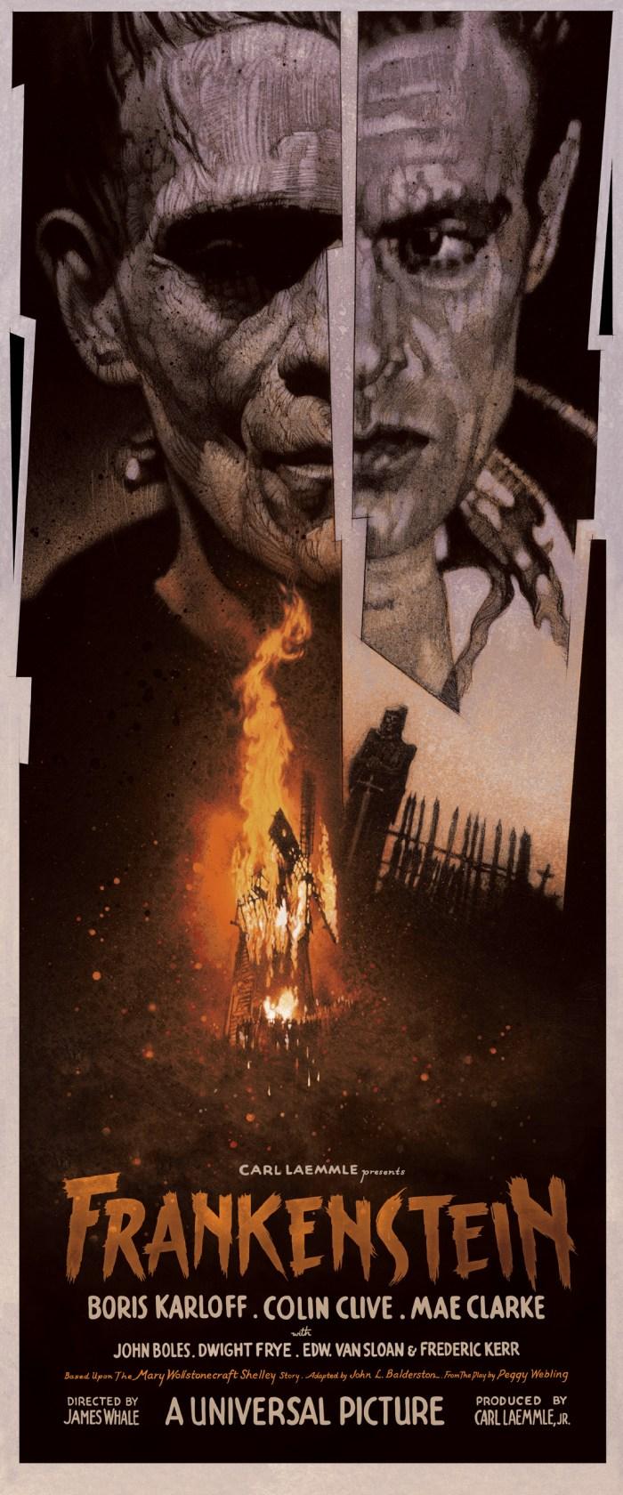 Drew Struzan Frankenstein