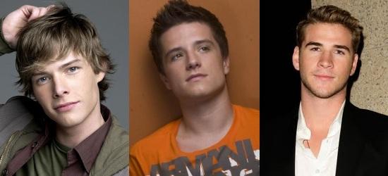 Hunter Parrish, Josh Hutcherson, Liam Hemsworth