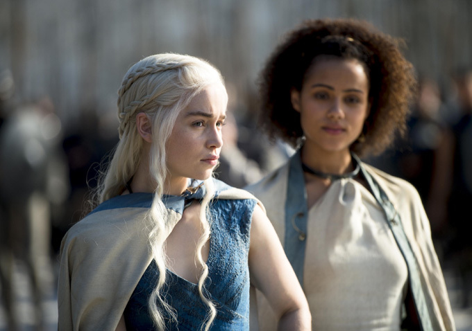 Game of Thrones Season 4 - Daenerys and Missandei