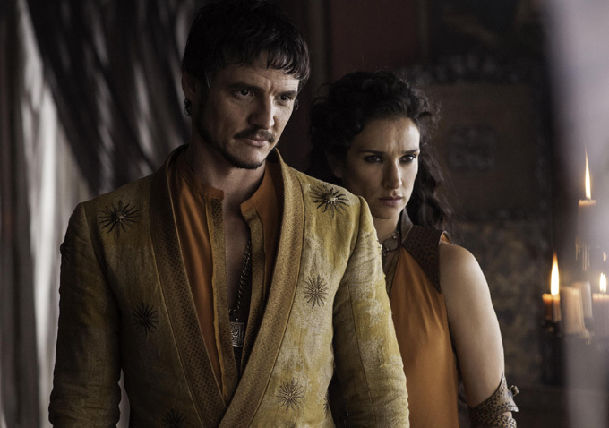 Game of Thrones Season 4 - Oberyn and Ellaria