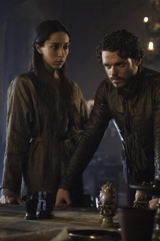 Game of Thrones - Talisa Maegyr and Robb Stark