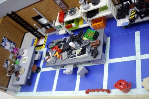 Ghostbusters HQ Lego 8
