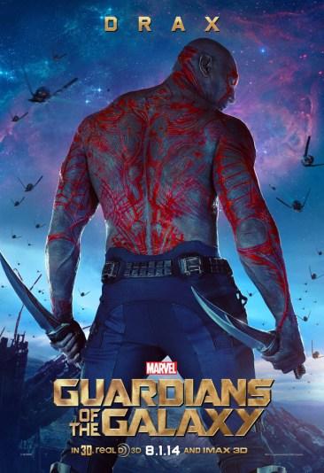 Guardians Galaxy Drax poster