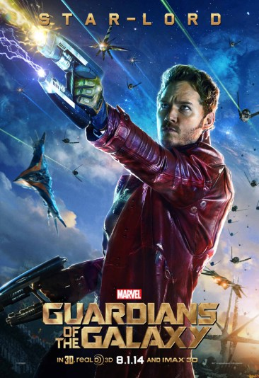 Guardians Galaxy Star Lord poster