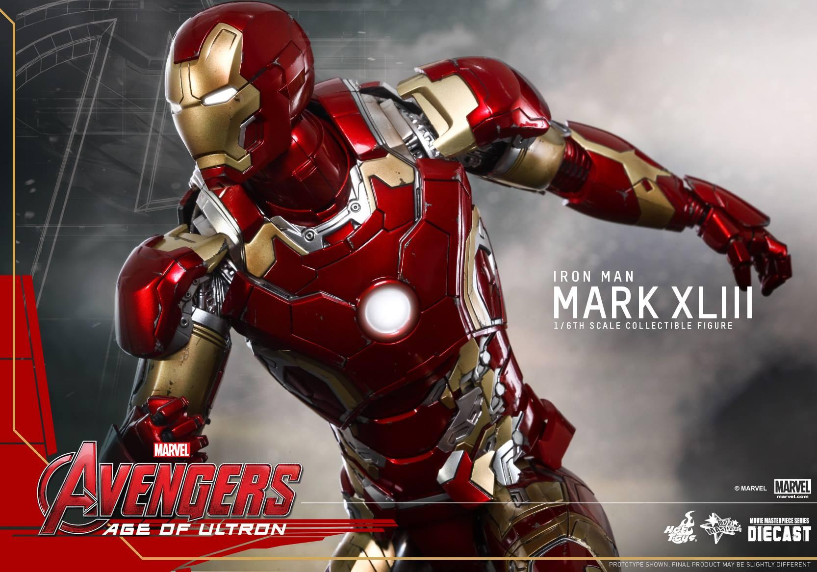 Hot Toys' Avengers: Age of Ultron Iron Man Suit Revealed