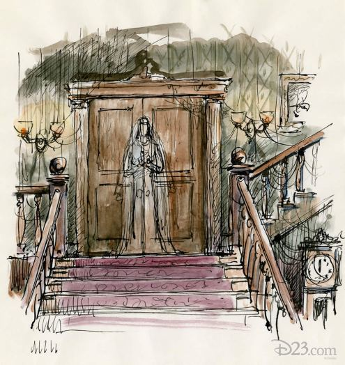 Haunted Mansion concept art 4