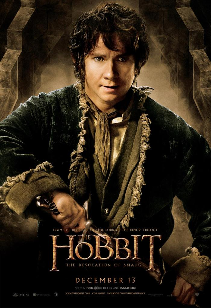 Hobbit Smaug Poster Bilbo