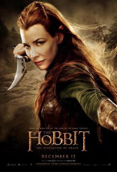 Hobbit Smaug Poster Tauriel