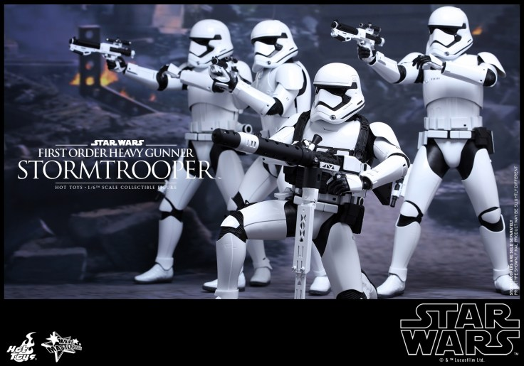 Hot Toys - Star Wars - The Force Awakens - First Order Heavy Gunner Stormtrooper Collectible Figure_PR1