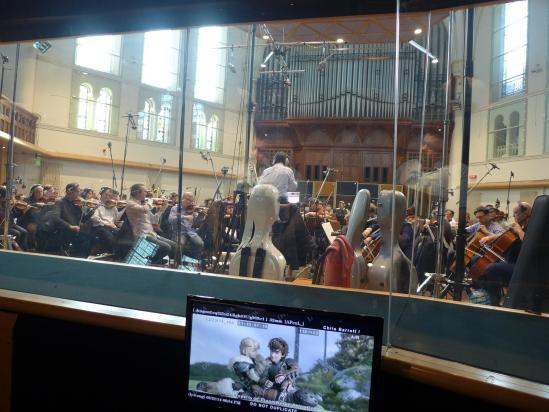 How to Train Your Dragon 2 recording score