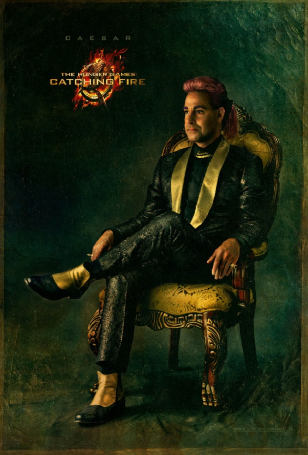 Hunger Games Catching Fire - Caesar portrait