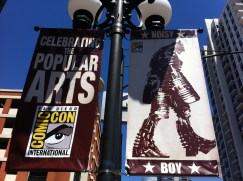 Comic-Con 2011: Real Steel Banners