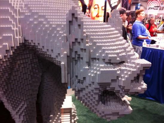 Comic-Con 2011: Batman LEGO up close