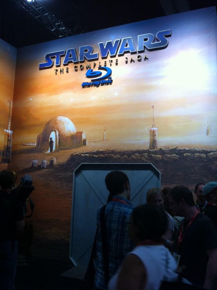Comic-Con 2011: Star Wa Blu-ray