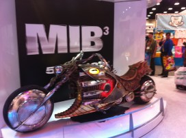Comic-Con 2011: Men in Back 3 bike