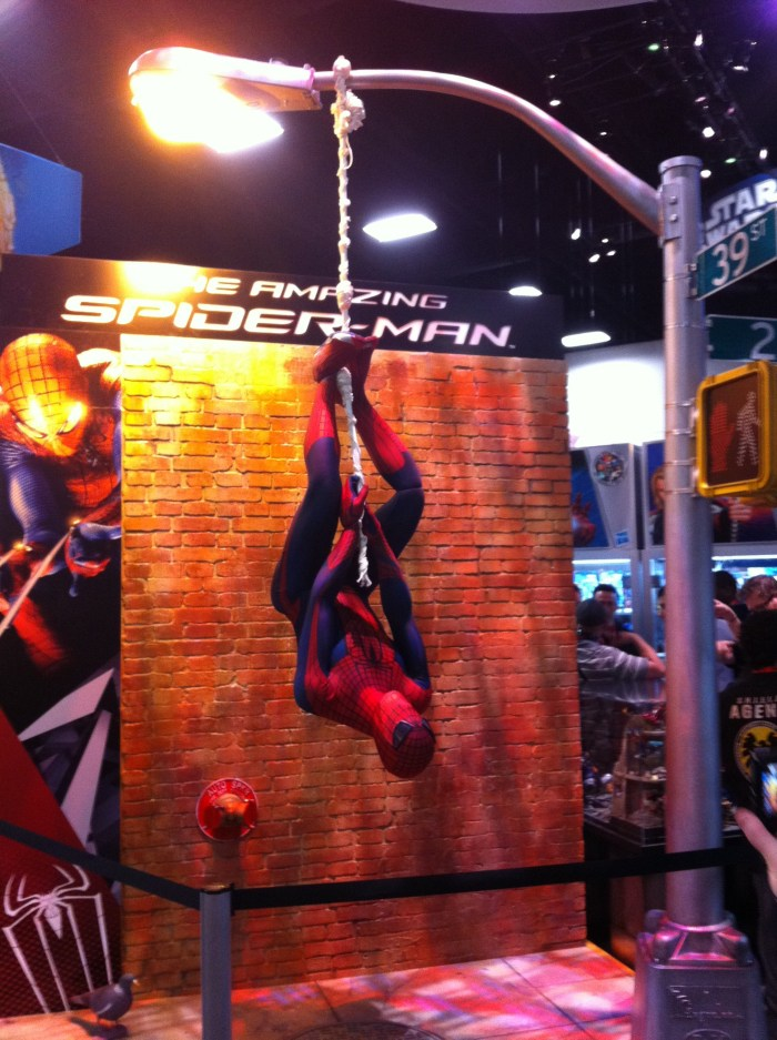 Comic-Con 2011: The Amazing Spider-Man display