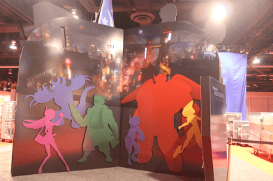 Big Hero 6 at D23 expo