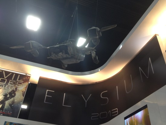 Elysium Display at Comic Con 2012