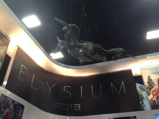 Elysium Display at Comic Con 2012