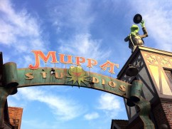 New Muppet Movie Set Photos