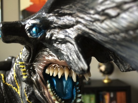 Sideshow Pacific Rim Knifehead Statue teeth