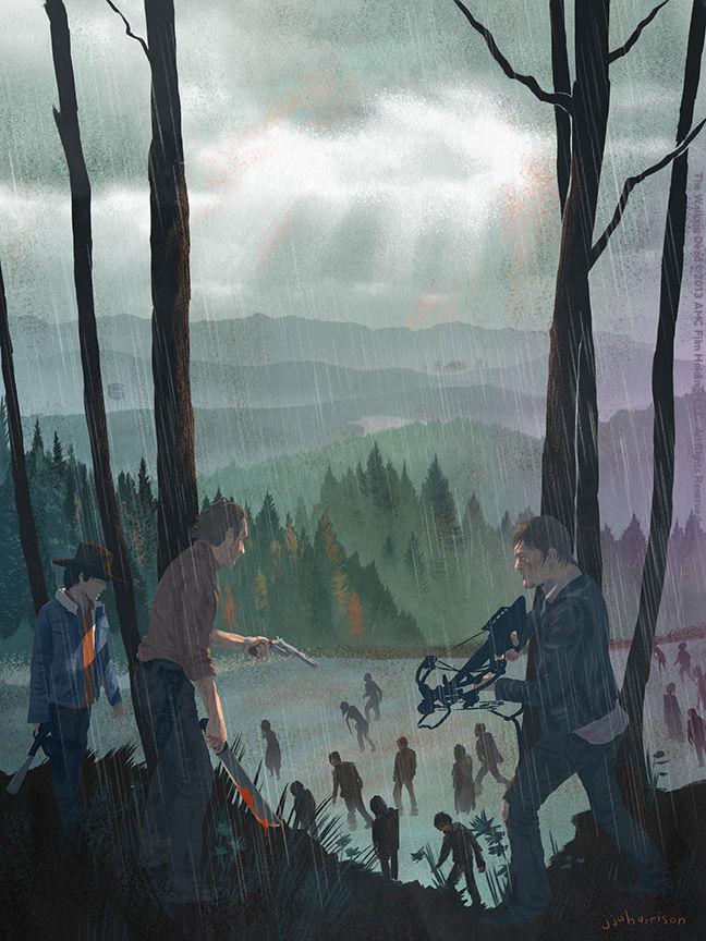 JJ Harrison - Walking Dead