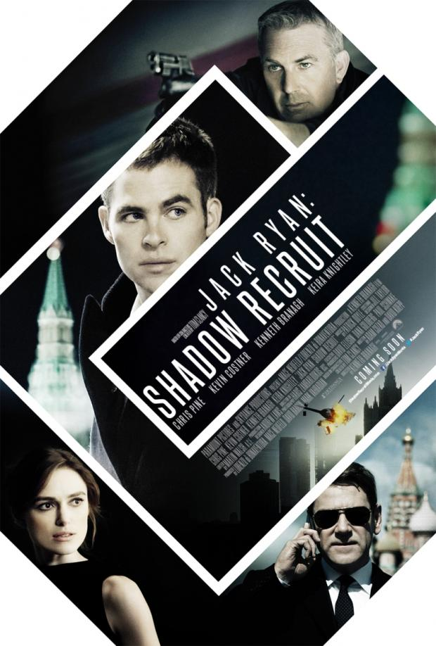 Jack Ryan Shadow Recruit poster