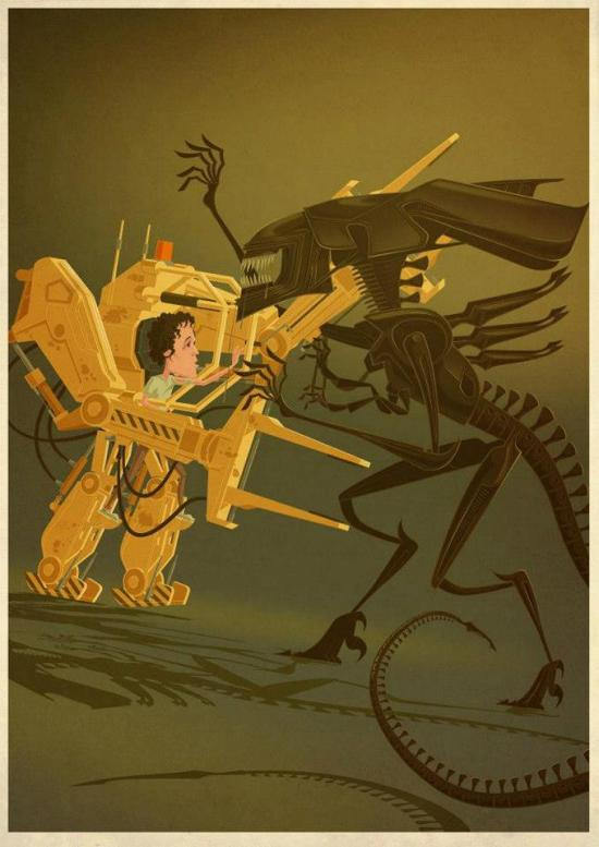 James Gilleard - Aliens