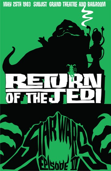 James Silvani Return of the Jedi poster