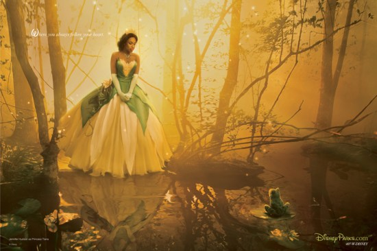 Jennifer Hudson as Princess Tiana
