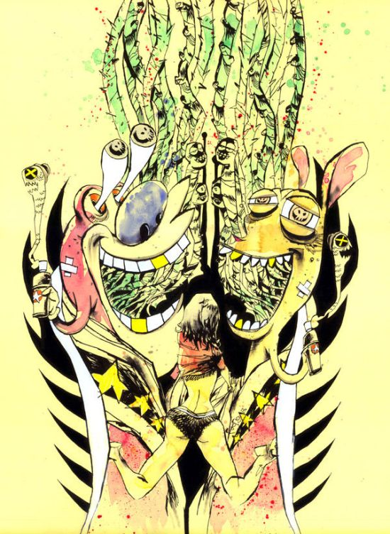 Jim Mahfood - Happy Happy Joy Joy