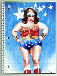 Jim Rugg - Divine Wonder Woman