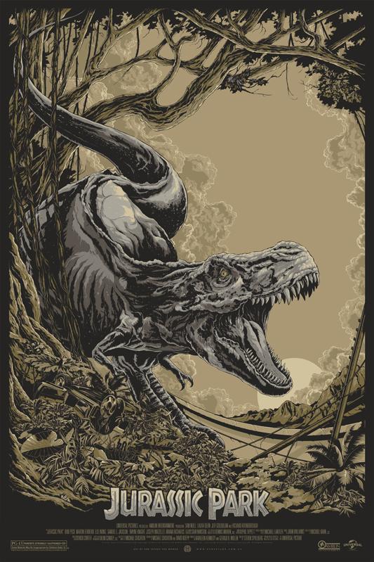 Ken Taylor - Jurassic Park variant