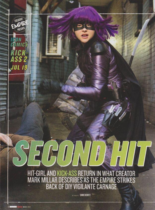 Kick-Ass 2 (Empire Magazine) - Hit-Girl 1