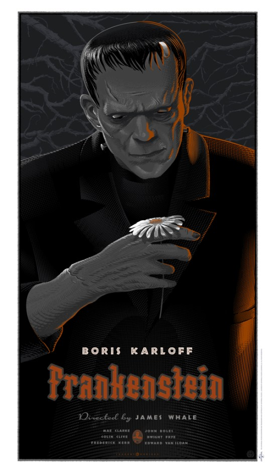 Laurent Durieux - Frankenstein