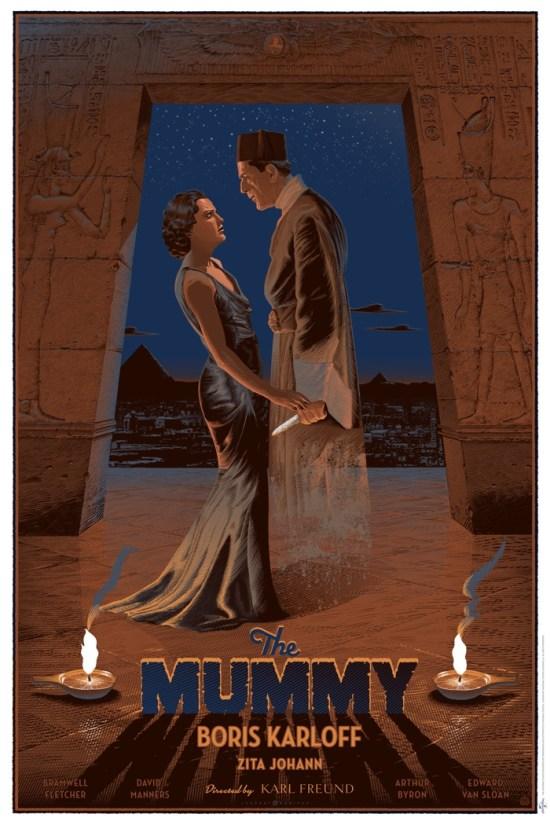 Laurent Durieux - The Mummy