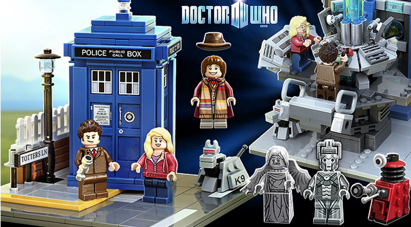 Wall E Lego And Doctor Who Sets Coming 2015