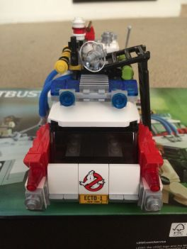 Lego Ghostbusters Ecto-1 8
