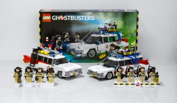 Lego Ghostbusters comparison 1