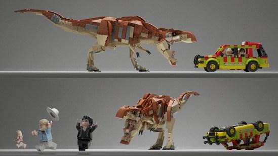 Lego Jurassic Park 2