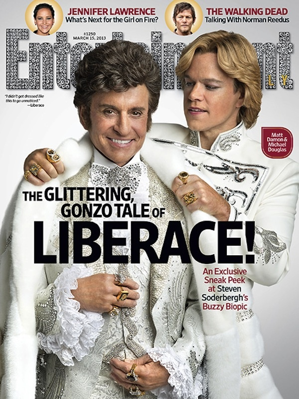 Liberace Entertainment Weekly cover