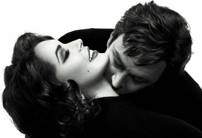 Lifetime Liz & Dick - Lindsay Lohan and Grant Bowler
