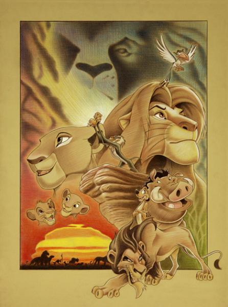 Lion King - Ben Curtis Jones