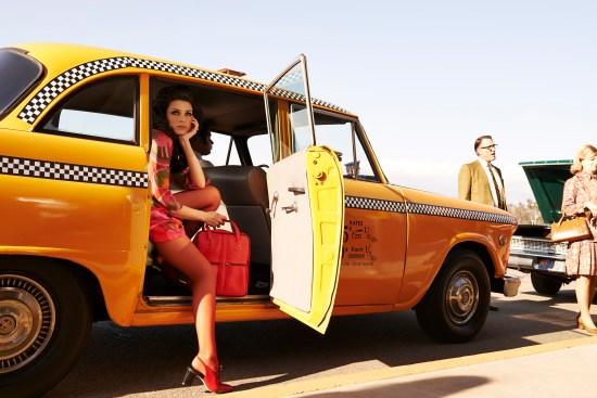 Mad Men Season 7 - Jessica Pare as Megan Draper