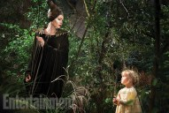 Maleficent - Angelina Jolie and Vivienne Jolie-Pitt