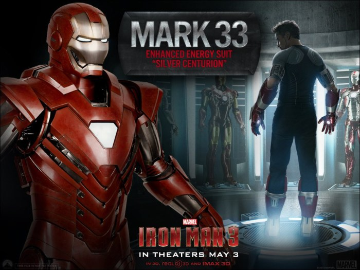 Mark 33 Iron Man 3