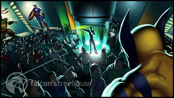 Marvel City 9