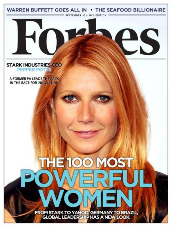 Mediavengers - Forbes Pepper Potts